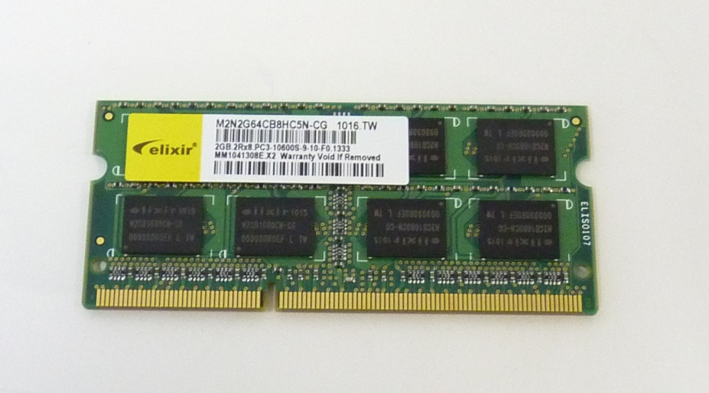 Kingston 2GB 2Rx8 PC3-10600S-9-10-F0 DDR3 RAM   ~Free Shipping from US Seller!